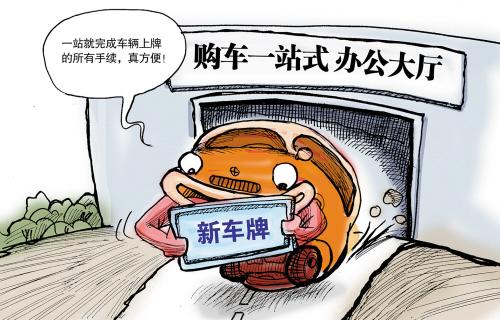 上海上牌费用