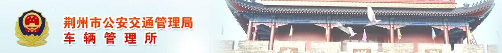 荆州网上车管所