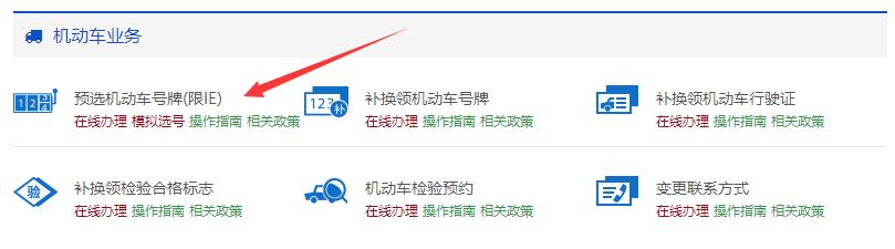海南网上选车牌官网