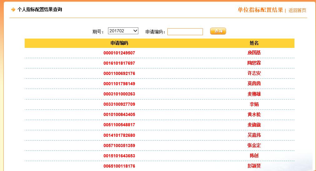 广州摇号申请网站指标查询